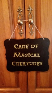 Care of Magical Creatures Sign