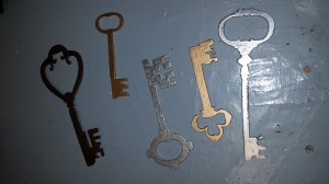 Keys Painted